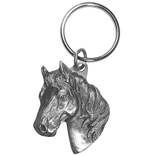 Horse Antiqued Keyring