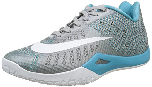 Grey omg Basketball Bl Wolf Grey Men Sneakers cl Gris Hyperlive s NIKE Grey White qx8Z7an