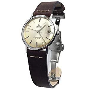 Vintage 1963 Omega Seamaster De Ville Watch with Silver Dial