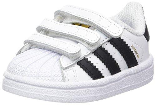 adidas Superstar Foundation CF I - Zapatillas infantil Blanco / Negro (Ftwbla / Negbas / Ftwbla)