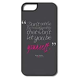 Custom Cheap Hard Plastic Let U Be Yourself Iphone 5s Case