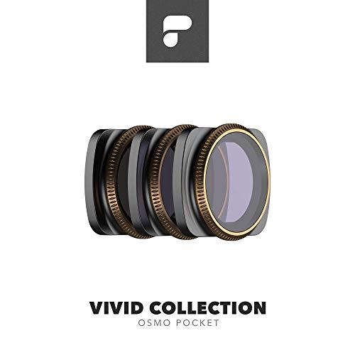 PolarPro Cinema Series Filter 3-Pack - Vivid Collection for DJI Osmo Pocket ()