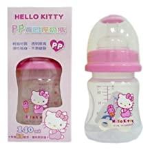 Sanrio Hello Kitty Baby Wideneck Pp Feeding Bottle 4.7 Oz. / 140ml BPA Free