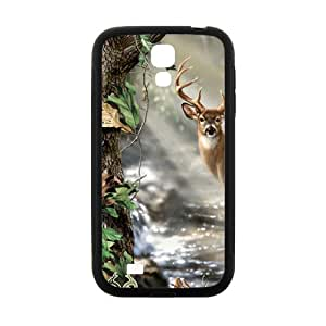 ZXCV Hall stream Deer Fahionable And Popular Back Case Cover For Samsung Galaxy S 4