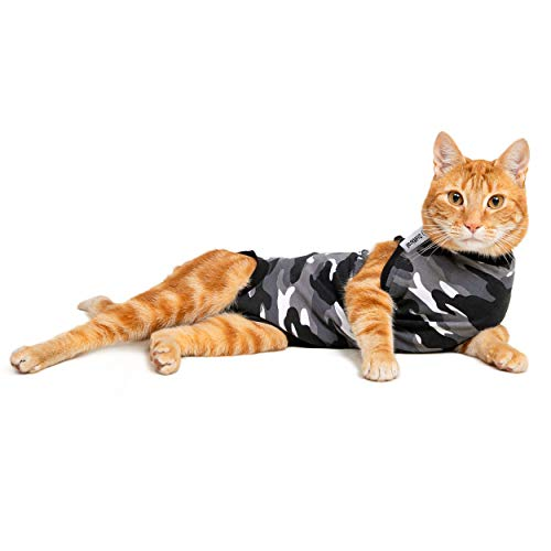 Suitical Recovery Suit Katze, Schwarz Camouflage