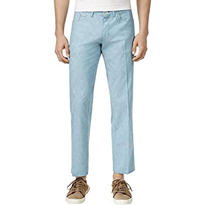 Calvin Klein Men's Stretch Sateen Casual Pants