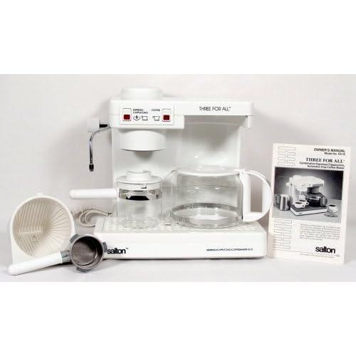 Cappuccino espresso maker steam