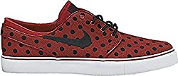 Nike Sb Zoom Stefan Janoski Canvas Prm Mens Trainers 705190 Sneakers Shoes (Uk 9 Us 10 Eu 44, Team Red Black White 601)