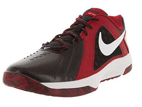 Nike Mens Air Mavin Low Basketball Shoe, Rot, 42 D(M) EU/7.5 D(M) UK