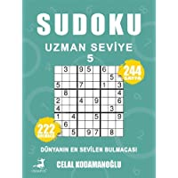 Sudoku Uzman Seviye 5: Dünyanın En Sevilen Bulmacası - 222 Bulmaca