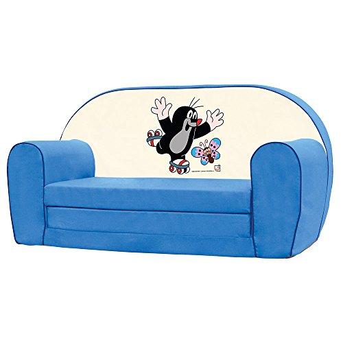 Bino License 13779 Bino Mini Sofa, Colour-Blur, Blue