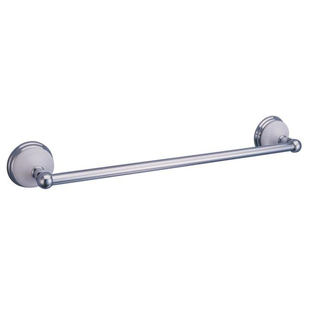 hot sale Kingston Brass BA1112C Victorian 18-Inch Towel Bar, Polished Chrome