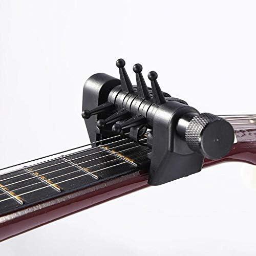 Multifunción ceja de la guitarra Abiertas Puesta a punto de la araña Acordes tono Ajuste Abrazadera Quick Change for la guitarra acústica de piezas