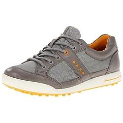 ECCO Men's Street Textile Golf Shoe