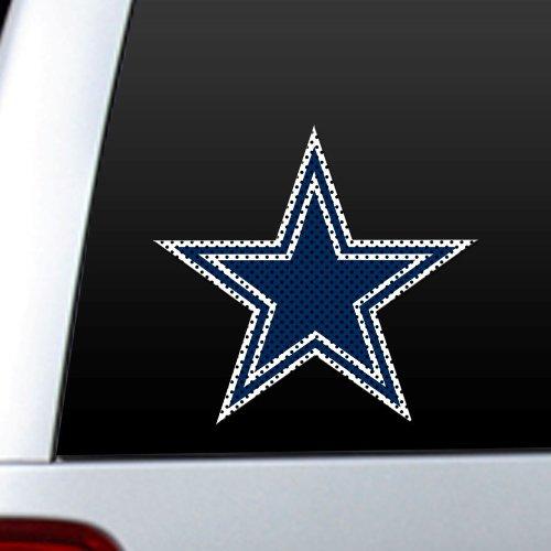 (NFL Dallas Cowboys Die Cut Window Film )