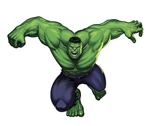 Hulk Peel - Marvel Superheroes Comic - The Avengers - The Incredible Hulk Giant Wall Decal Sticker