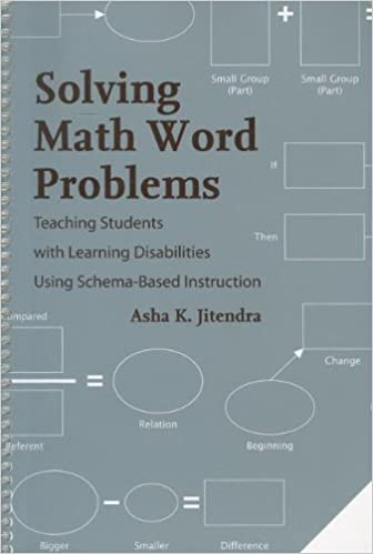 Solving Math Word Problems: Teaching Students With Learning ...