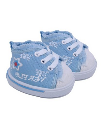 Flower Power Teddy Bear Shoes Fits Most 14