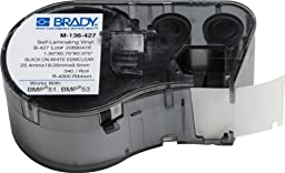 Brady M-136-427 Labels for BMP53/BMP51 Printers