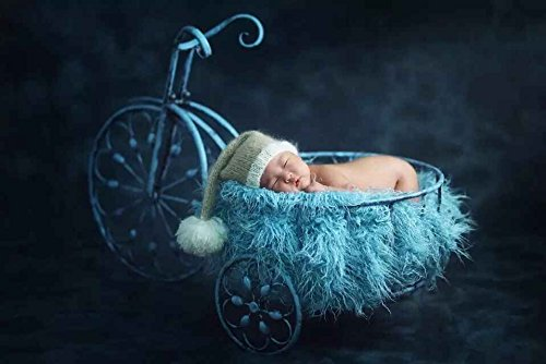 Hot! 2016 New Creative Newborn Photography Props infant Photo Props Baby Photography Props Iron Art Bike for Newborn Baby D-75 by backdropday