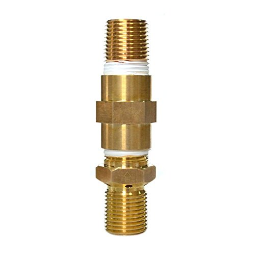 Onlyfire LP Air Mixture Valve for Liquid Propane Fire Pits, 100% Soild Brass