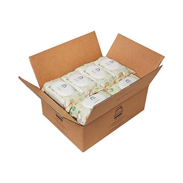 Marchio Amazon - Mama Bear Fresh Salviette umidificate per bebè – 18 confezioni (1008 salviette) 6