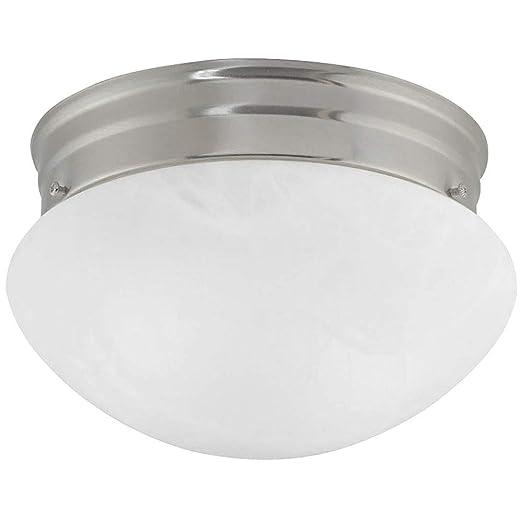 Amazon.com: 8-Inch Flushmount Mushroom Luz de techo: Home ...