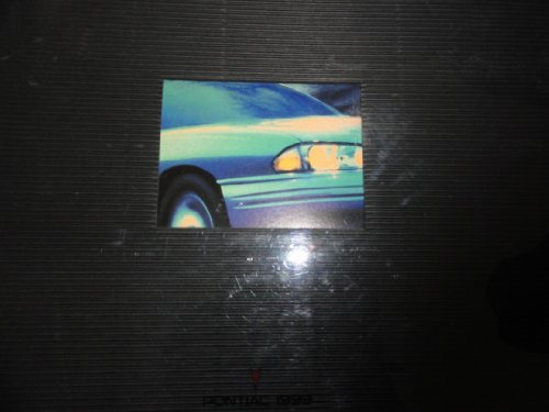 Original 1999 Pontiac Bonneville Sales Brochure
