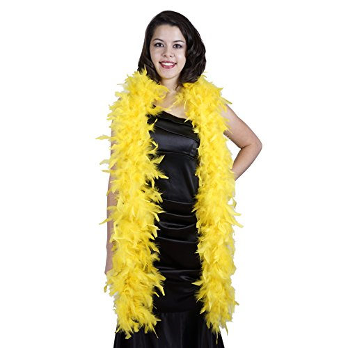 Zucker Feather (TM) - Chandelle Boas Solid Colors - Yellow ()