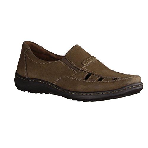 Camino de bosque–Señor Zapatos–Cómoda–Herwig–Alcance H–5999extraíble–estrecho talón–478501–055 Gris - Schlamm