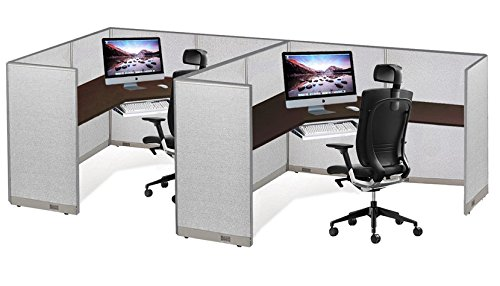 GOF Office Partition Custom Built Workstation Wall Office Divider (36w X 72h) by GOF (Image #5)