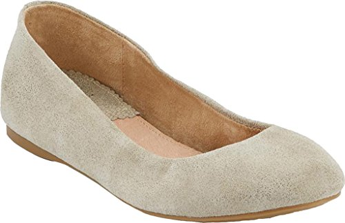 Flat G H GvlgT9aibk Pewter Suede Bass Metallic Women's amp; Felicity Ballet aHq4awxC