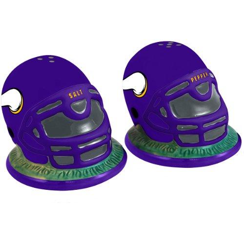 Memory Company Minnesota Vikings Helmet Salt & Pepper Shaker