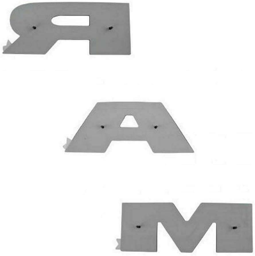 OLPAYE - Placa de identificación para puerta trasera (3 m), color negro