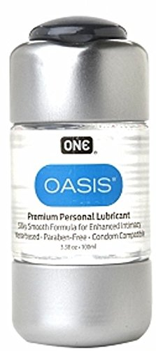 ONE Oasis Personal Lubricant 3.38 oz (Pack of 10) by ONE