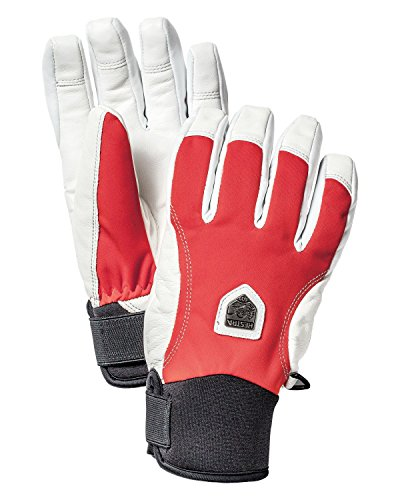 Hestra Gloves 32100 CZone Alpline Short, Light Red - 7 by Hestra