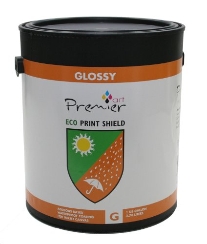 Premier Art Eco Gloss Shield Inkjet Protective Coating - Gallon by Premier