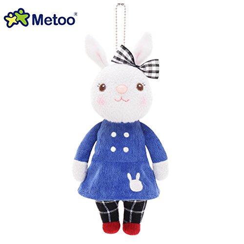 WATOP Stuffed Animals - Teddy Bears | Baby Kids Toys for Girls Birthday Lovely Sweet Cute Stuffed Pendant 22cm tiramitu Rabbits Mini Plush MeToo Doll (1-)
