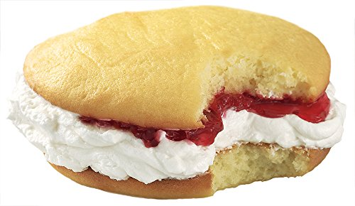 Raspberry N Cream Wicked Whoopie, One Dozen ()