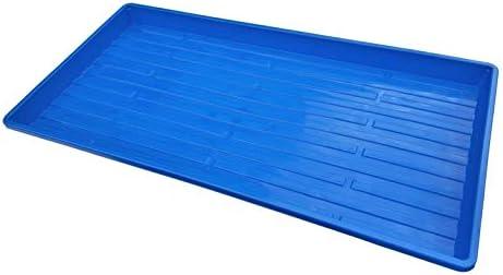 Microgreen Trays, Blue 10 Pack, No Holes