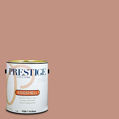 Prestige Paints Interior Paint and Primer In One, 1-Gallon, Eggshell,  Comparable Match of Behr Mesa Peach (Mesa Peach)