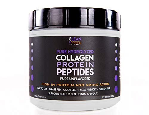 High Quality Grass-Fed Pasture Raised Pure Hydrolyzed Collagen Protein Powder Peptides Pure Unflavored For Sale