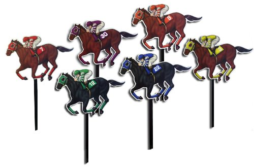 Horse and Jockey Yard Signs