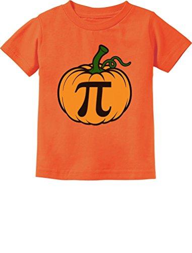 TeeStars - Halloween Pumpkin Pie Cute Pumpkin Pi Toddler Kids T-Shirt 4T Orange]()