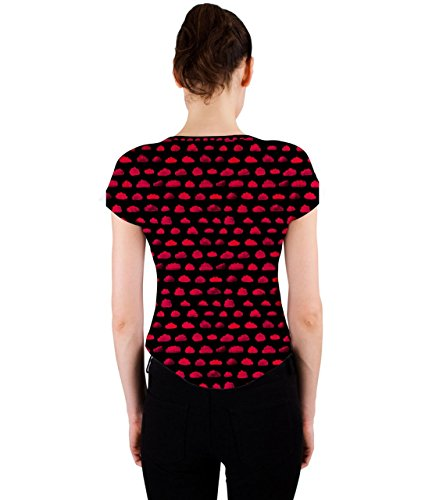 CowCow - Canotta -  donna rosso X-Small