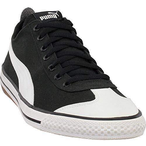 PUMA Men's 917 Fun Fashion Sneaker Black White, 10 M US