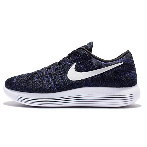 Women Nike Dunk Low (Nike Womens Lunarepic Low Flyknit Running Trainers 843765 Sneakers Shoes (US 9.5, black white purple dust 005))