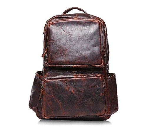 DJB/ Vintage Lederrucksack Taschen Schultertaschen