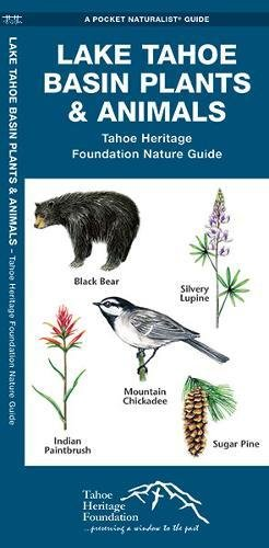 Lake Tahoe Basin Plants & Animals: Tahoe Heritage Foundation Nature Guide (A Pocket Naturalist - Lakes Waterford Map