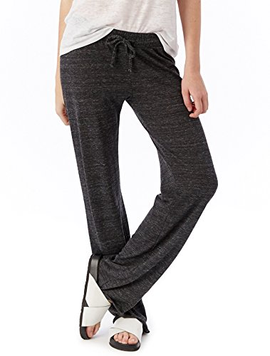 Alternative Women's Eco-Heather Long Pant, Eco Black, Small (Maternity Pants Long compare prices)